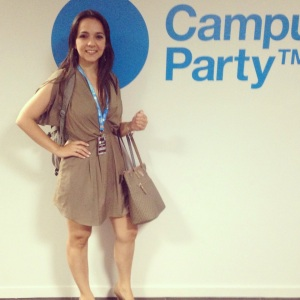 Talita Lombardi na Campus Party