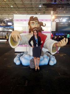 Talita Lombardi na Campus Party