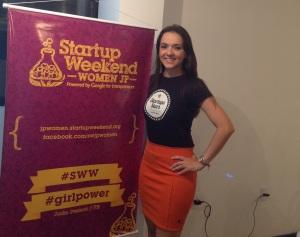 Talita Lombardi no Startup Weekend Women