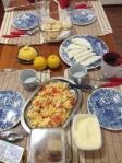 Café da Manhã que preparei para amigos