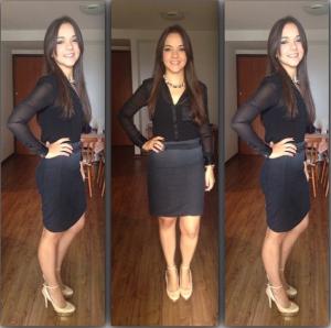 LOOK: Talita Lombardi | Menina Executiva