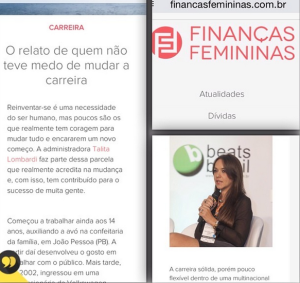 Talita no Financas Femininas